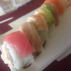 Photo taken at Pacific Cabin Sushi by Britt♚Britt on 1/24/2014