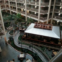Photo taken at Embassy Suites Syracuse by Ryan S. on 6/10/2013