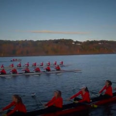 Photo taken at Marist Boathouse by Deke M. on 11/2/2014