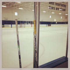 Photo taken at Richfield Ice Arena by Will P. on 3/12/2013