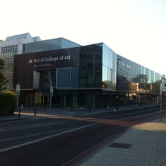 Photo taken at Royal College of Art - Dyson Building by Plastic P. on 5/11/2013