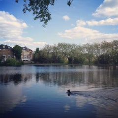 Photo taken at Hampstead Heath by Tadporn W. on 6/2/2013