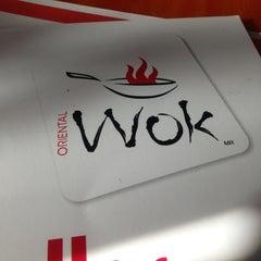 Photo taken at Oriental wok by Estephania M. on 12/8/2012