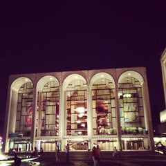 Photo taken at Lincoln Center Plaza (Josie Robertson Plaza) by Donovan S. on 7/11/2013