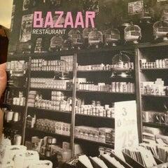 Photo taken at Bazaar by Elena H. on 11/1/2012