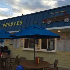 Photo taken at Woodies Drive-In by Daniel B. on 6/16/2015