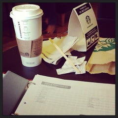 Photo taken at Starbucks by bri_rodr on 5/29/2013