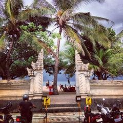 Photo taken at Pantai Kuta (Kuta Beach) by dixson l. on 6/17/2013