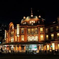 Photo taken at 東京駅 (Tokyo Sta.) by momonga t. on 6/27/2013