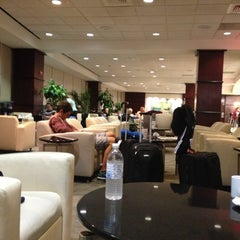 Photo taken at United Club - Terminal E by Allen S. on 1/9/2013