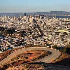 Photo taken at Twin Peaks Summit by Erik M. on 10/1/2012
