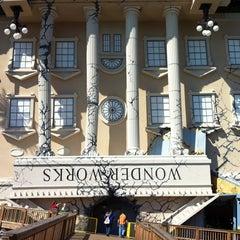 Photo taken at WonderWorks by Alissa W. on 10/13/2012