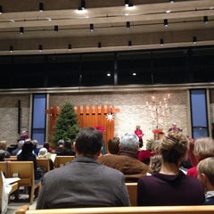 Photo taken at Unitarian Universalist Church Of Arlington by Margaret F. on 12/24/2013