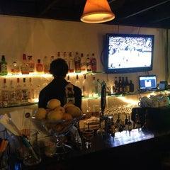 Photo taken at Genius Lounge and Sake Bar by Ryan G. on 12/23/2012