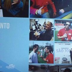 Photo taken at RBS Rádios by Otavio F. on 11/18/2014