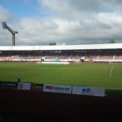 Photo taken at Estadio Multiusos de San Lázaro by Vanesa O. on 6/22/2013