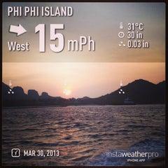 Photo taken at Phi Phi Island Village by Gai-Rungtawan A. on 3/30/2013