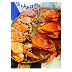 Photo taken at Shoreline Seafood by Kerri-Ann BrownSugar on 7/4/2014