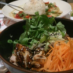 Photo taken at Wagamama by Peng C. on 3/17/2013