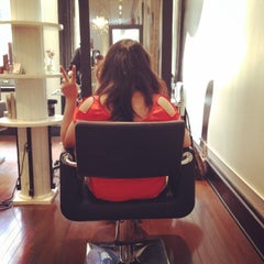 Photo taken at Alibi NYC Salon by Amy H. on 6/17/2014