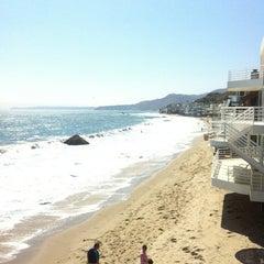 Photo taken at Malibu Public Beach by Brian H. on 7/13/2013