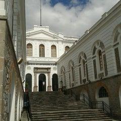 Photo taken at Museo de Arte Contemporaneo by Paula S. on 2/3/2013