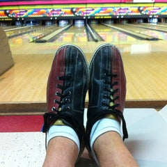 Photo taken at Let It Roll Bowl by Lance G. on 10/24/2012