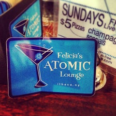 Photo taken at Felicia's Atomic Lounge by Todd H. on 9/1/2013