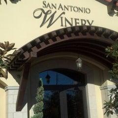 Photo taken at San Antonio Winery by Shanda T. on 11/24/2012