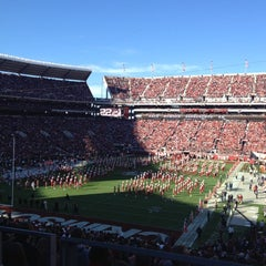 Photo taken at Bryant-Denny Stadium by Chelsea M. on 11/24/2012