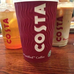 Photo taken at Costa Coffee by *Thea* on 8/6/2013
