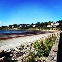 Photo taken at First Beach by SeaDek N. on 9/15/2014