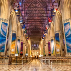 Photo taken at Washington National Cathedral by Andy F. on 5/18/2013
