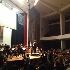 Photo taken at Conservatorio Nacional de Música by Luis Carlos D. on 12/9/2012