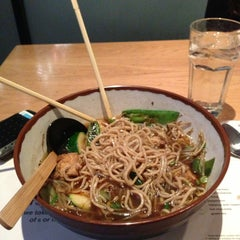 Photo taken at Wagamama by Phil L. on 2/17/2013