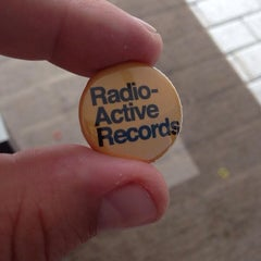 Photo taken at Radio Active Records by Stéphan P. on 7/1/2014