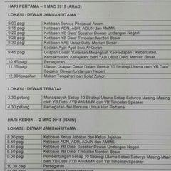 Photo taken at Pejabat Setiausaha Kerajaan (SUK) Negeri Kelantan by Muhamad Faris A. on 3/1/2015