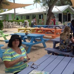 Photo taken at The Wreck Bar - Rum Point by Russell W. on 4/17/2014