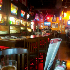Photo taken at Boston Pizza by Mike D. on 9/18/2013