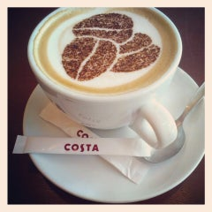 Photo taken at Costa Coffee by Elina P. on 4/3/2013
