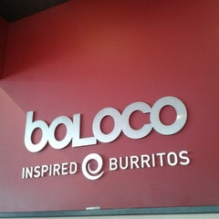 Photo taken at Boloco by John R. on 5/3/2013