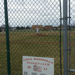 Photo taken at Utica High School by Thomas M. on 4/13/2013