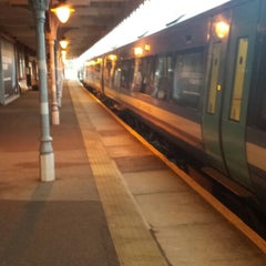 Photo taken at Bury St Edmunds Railway Station (BSE) by TheNorfolkScot on 7/16/2014