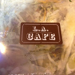 Photo taken at LA Café by Juliette B. on 6/13/2013