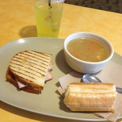 Photo taken at Panera Bread by Cassidy W. on 2/10/2013