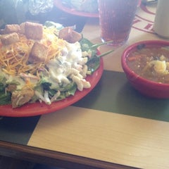 Photo taken at Souplantation by Monica H. on 3/25/2014