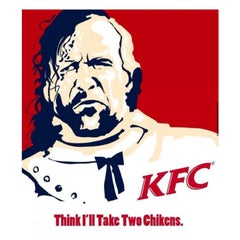 Photo taken at KFC by Joseph P. on 4/26/2014