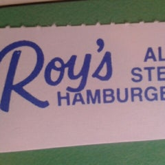 Photo taken at Roy's All Steak Hamburgers by Crystal S. on 1/28/2013