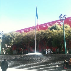 Photo taken at Delegación Cuajimalpa by Luis Manuel C. on 6/6/2013
