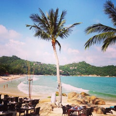 Photo taken at Panviman Resort Koh Phangan by Anja B. on 1/12/2014
